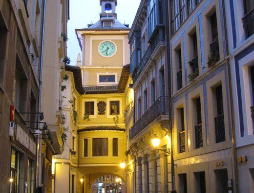 Calle Cimadevilla in Oviedo